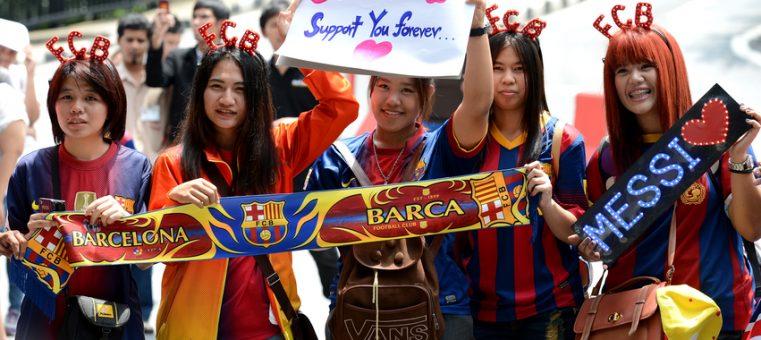 11月16日、スペインサッカークラブのFCバルセロナとスポンサー契約を締結した、日本の企業はどこでしょう?